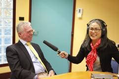 Masako Fukui and Bruce Miller, Photo by Mayu Kanamori